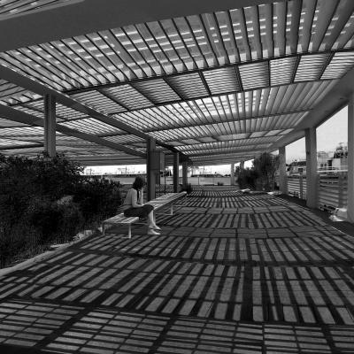 urban grid bench